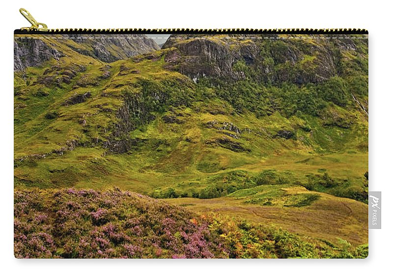 Landscape Carry-all Pouch featuring the photograph Isle Of Skye by Marcia Colelli