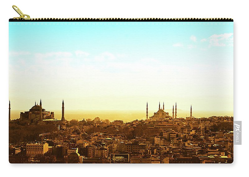 Tranquility Carry-all Pouch featuring the photograph Istanbul by Dhmig Photography