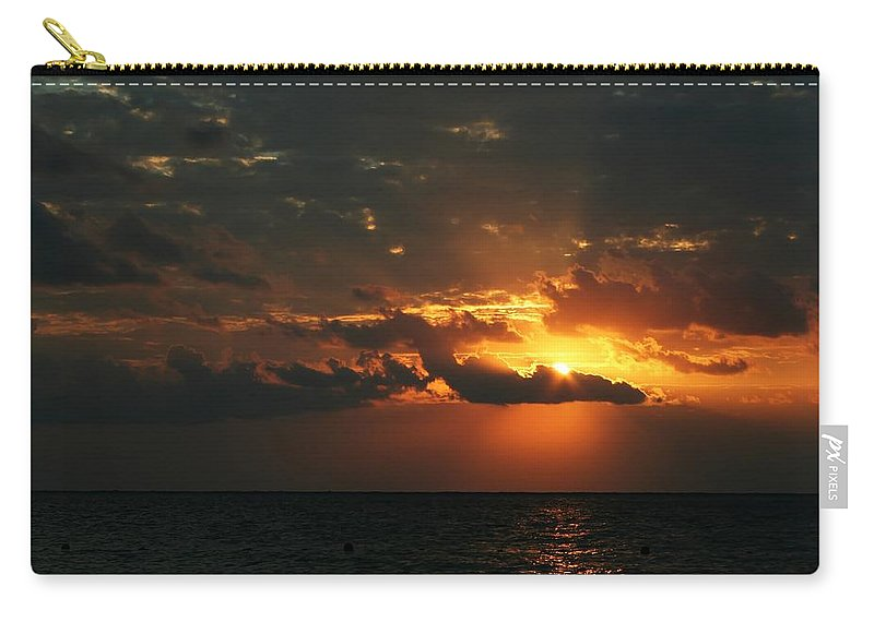 Cozumel Carry-all Pouch featuring the photograph It Burns by Laurie Search