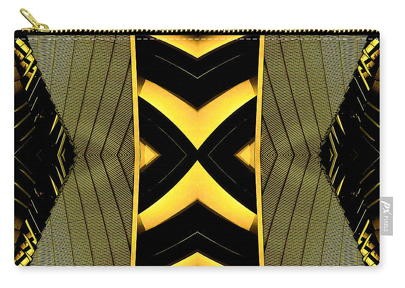 Abstract Prints Carry-all Pouch featuring the photograph It Can Also Fly by Anders Hingel