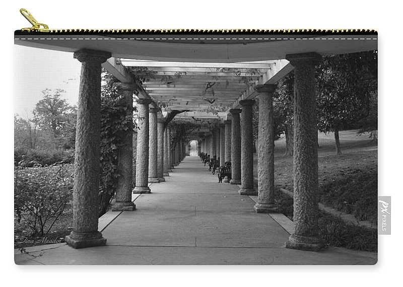 Maymont Carry-all Pouch featuring the photograph Italian Garden by Tina Meador