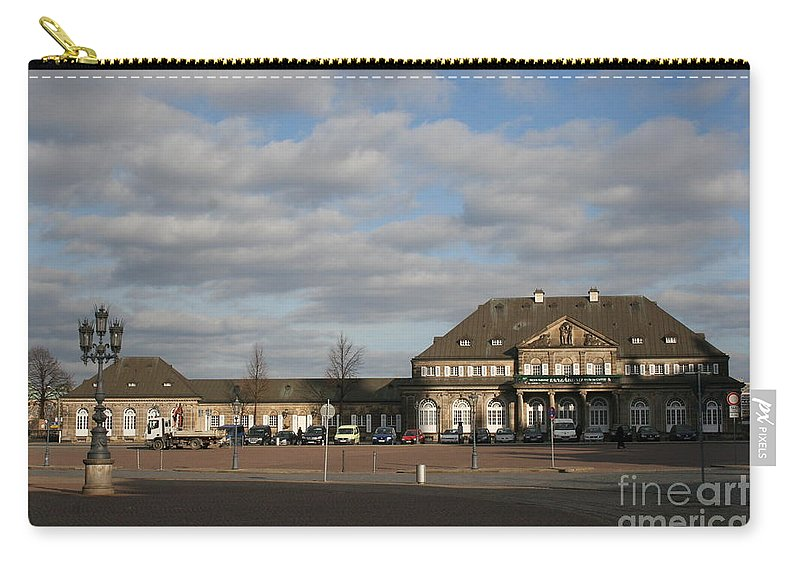 Italian Village Carry-all Pouch featuring the photograph Italian Village Dresden by Christiane Schulze Art And Photography