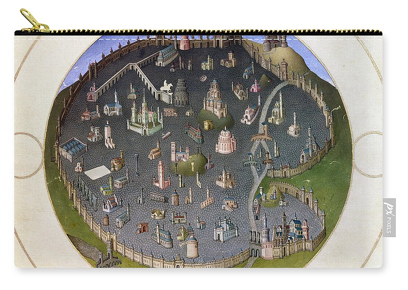 15th Century Carry-all Pouch featuring the photograph Italy: Rome, 15th Century by Granger