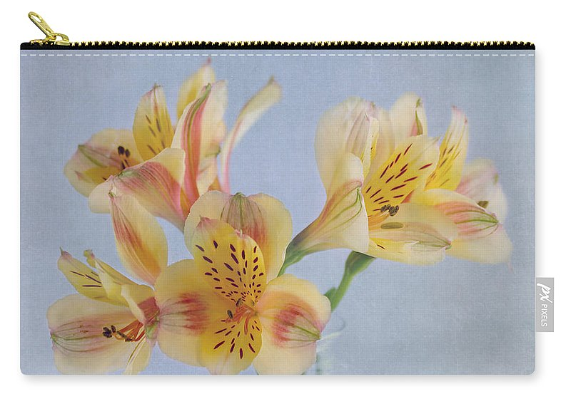 Yellow Flower Carry-all Pouch featuring the photograph It's A Beautiful Day by Kim Hojnacki