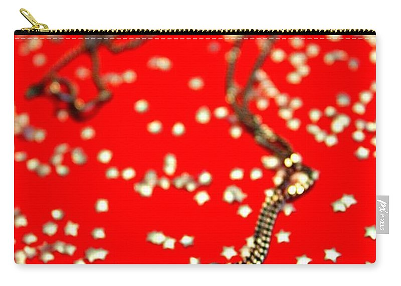 Greeting Cards Carry-all Pouch featuring the photograph Its In The Stars by Clare Bevan