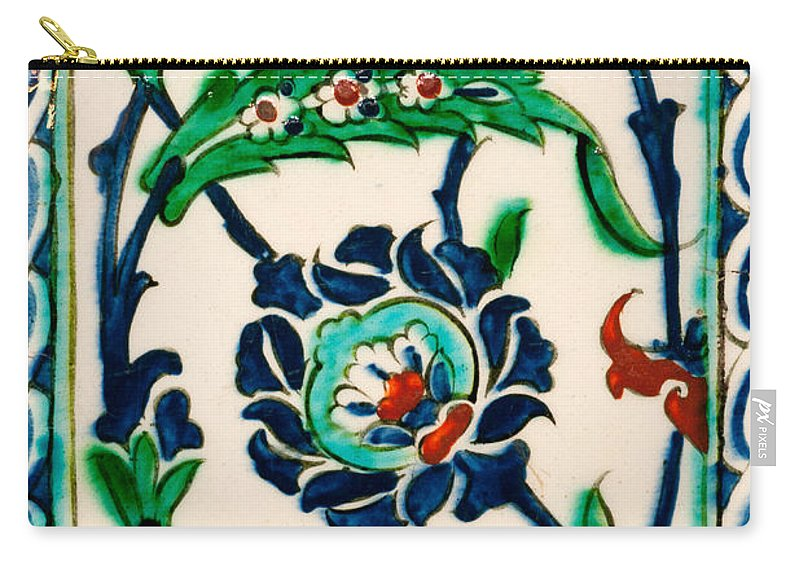 Istanbul Carry-all Pouch featuring the photograph Iznik 20 by Rick Piper Photography