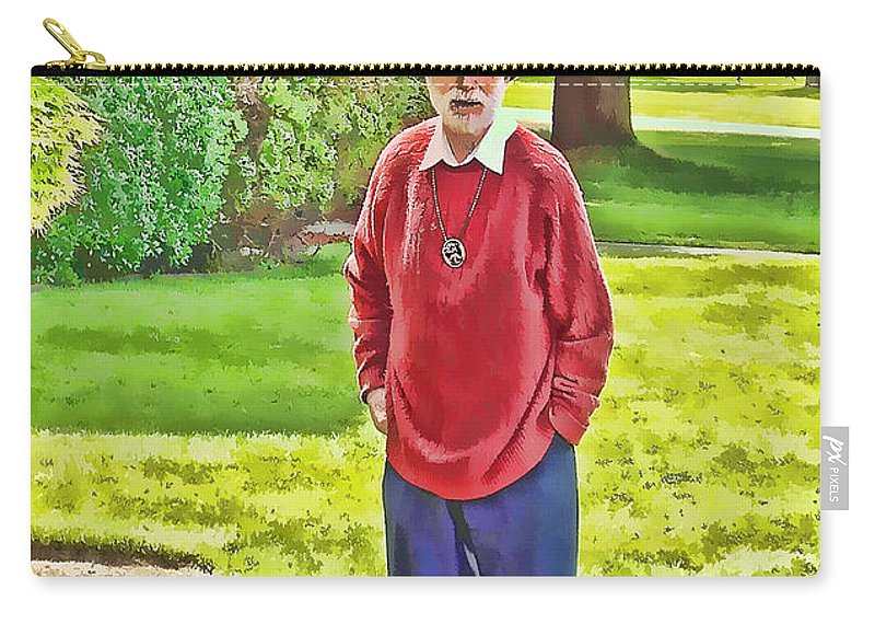 Man Carry-all Pouch featuring the photograph Jack by Cathy Anderson