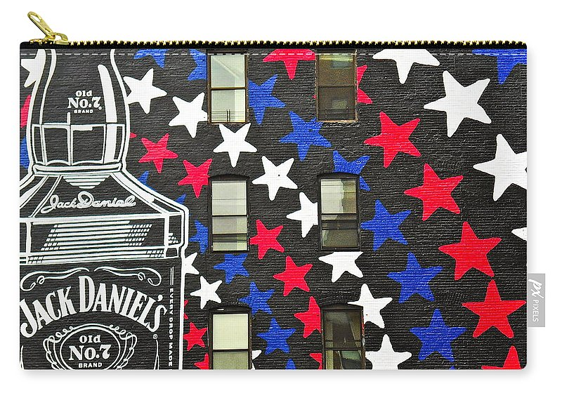 Jack Daniel\'s Wall Art Carry-all Pouch for Sale by Joan Reese