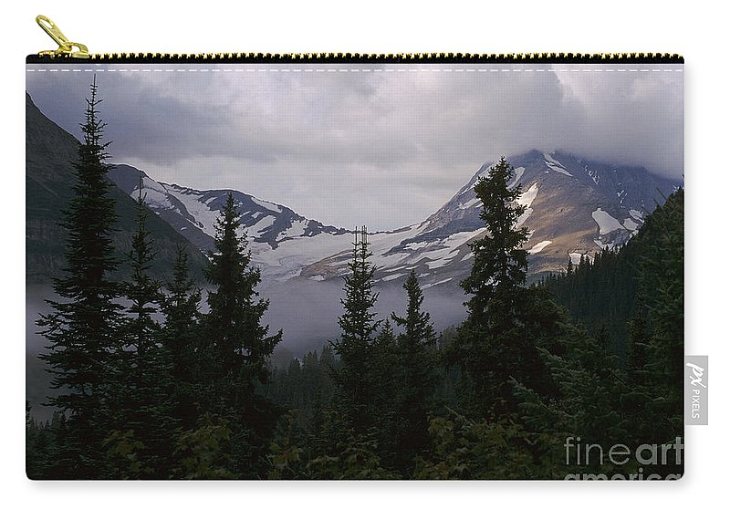 Glacier National Park Carry-all Pouch featuring the photograph Jackson Glacier by Sharon Elliott
