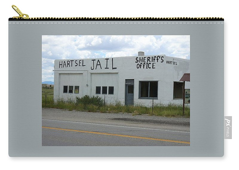 Lyle Carry-all Pouch featuring the painting Jail by Lord Frederick Lyle Morris - Disabled Veteran