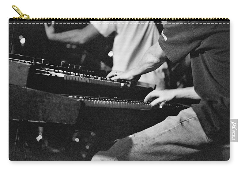 Carry-all Pouch featuring the photograph Jam Band by Jennifer Ann Henry