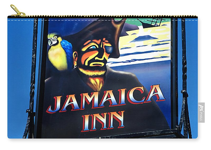Jamaica Inn Carry-all Pouch featuring the photograph Jamaica Inn On Bodmin Moor by Susie Peek