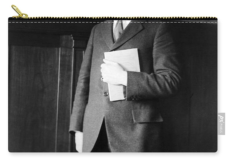 1920s Carry-all Pouch featuring the photograph James Rowland Angell by Granger