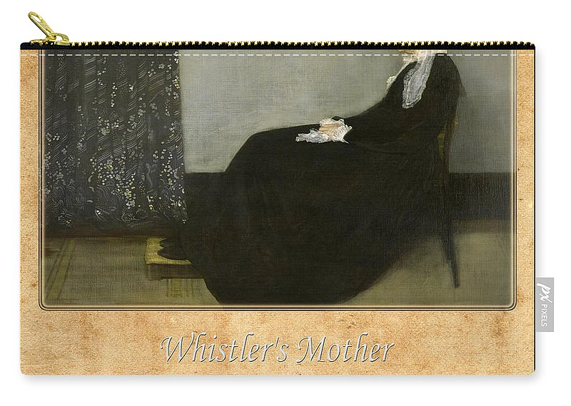 Whistler Carry-all Pouch featuring the photograph James Whistler 1 by Andrew Fare