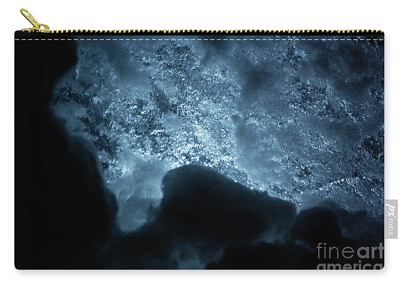 Gray Carry-all Pouch featuring the photograph Jammer Deep Blue 002 by First Star Art