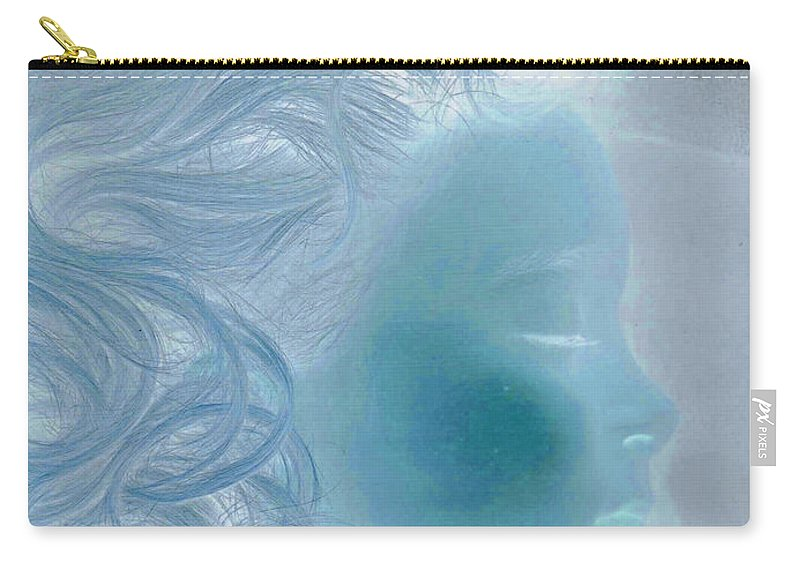 First Star Art Carry-all Pouch featuring the photograph jammer MZ portrait 03 by First Star Art