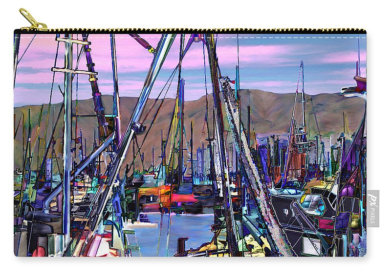 Harbors Carry-all Pouch featuring the photograph Jammin At Twilight by Kurt Van Wagner