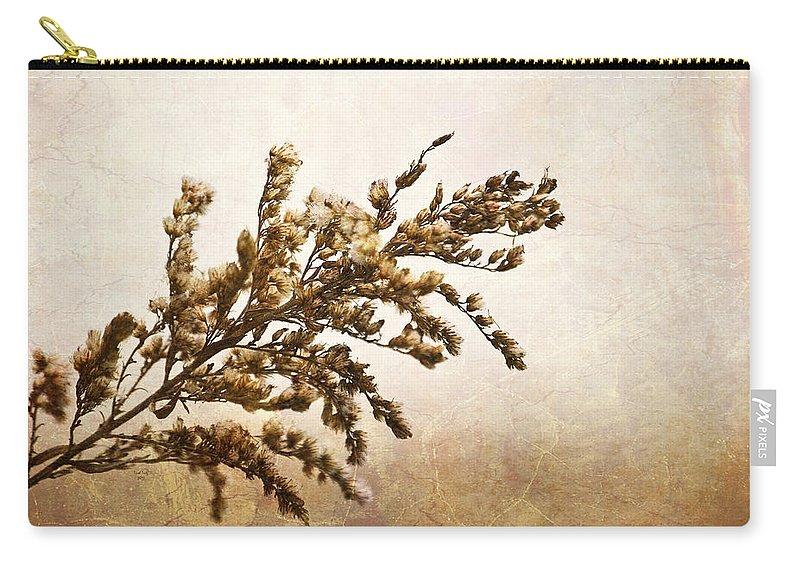 Janice Joplin Carry-all Pouch featuring the mixed media Janice Joplin by Trish Tritz