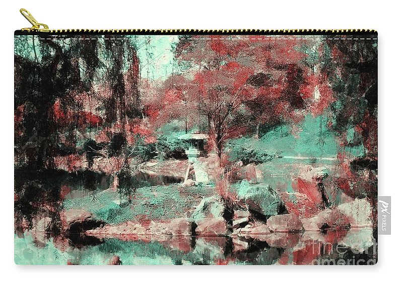 #japanese Carry-all Pouch featuring the photograph Japanese Garden's by Kathleen Struckle