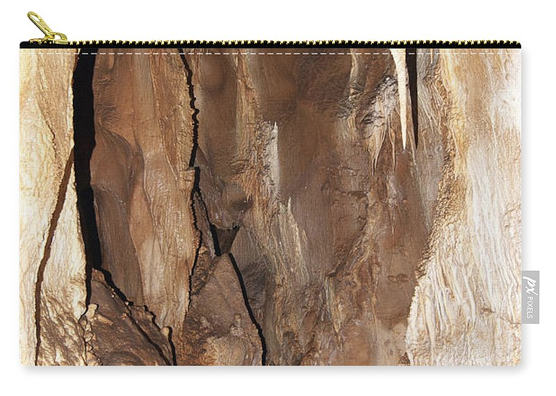 Cave Carry-all Pouch featuring the photograph Javoricko Stalactite Cave by Michal Boubin