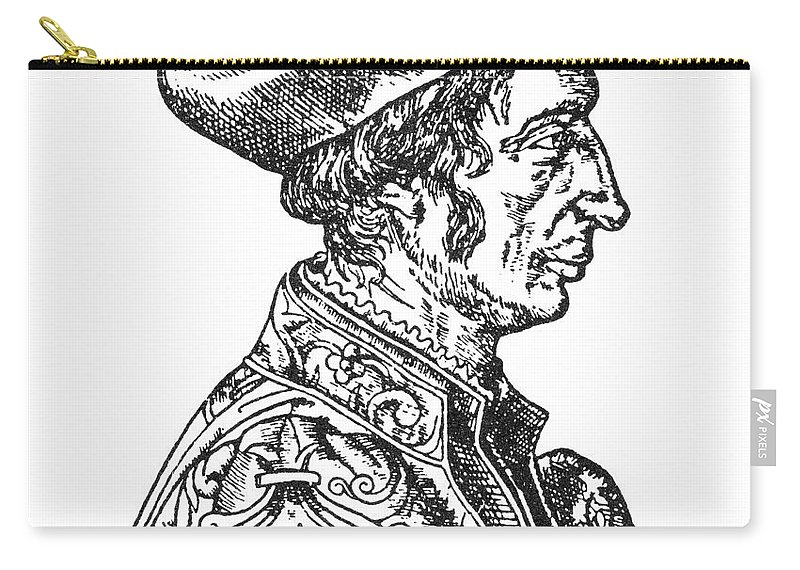 1554 Carry-all Pouch featuring the photograph Jean Fernel (1497-1558) by Granger