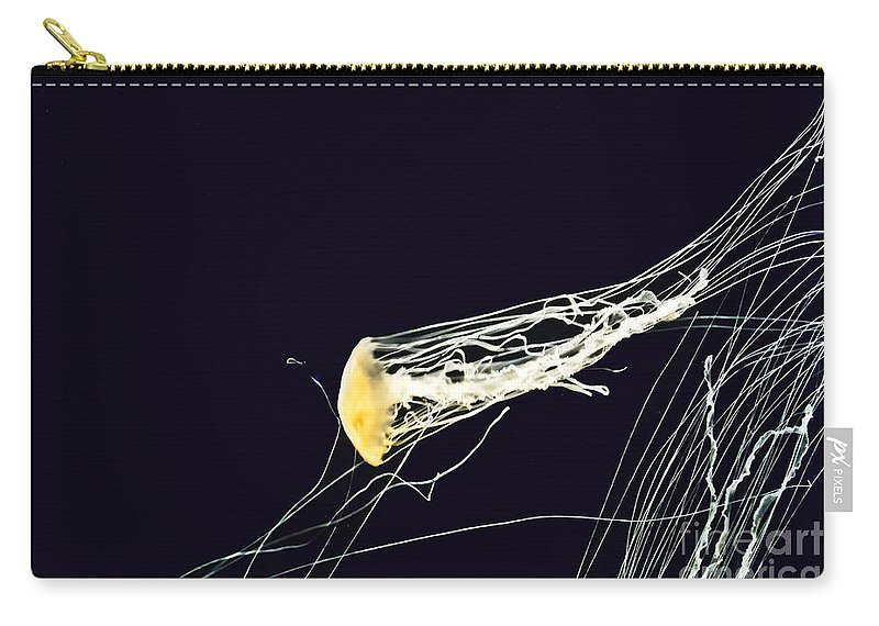 Nature Carry-all Pouch featuring the photograph Jelly Of The Sea by Elvis Vaughn