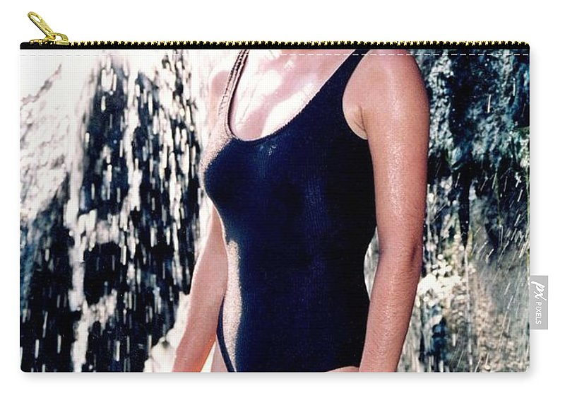 Model Carry-all Pouch featuring the photograph Jenny 1 Piece by Gary Gingrich Galleries