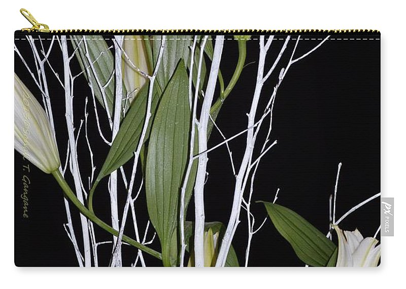 African Bulb Carry-all Pouch featuring the photograph Jersey Lilies by Sonali Gangane