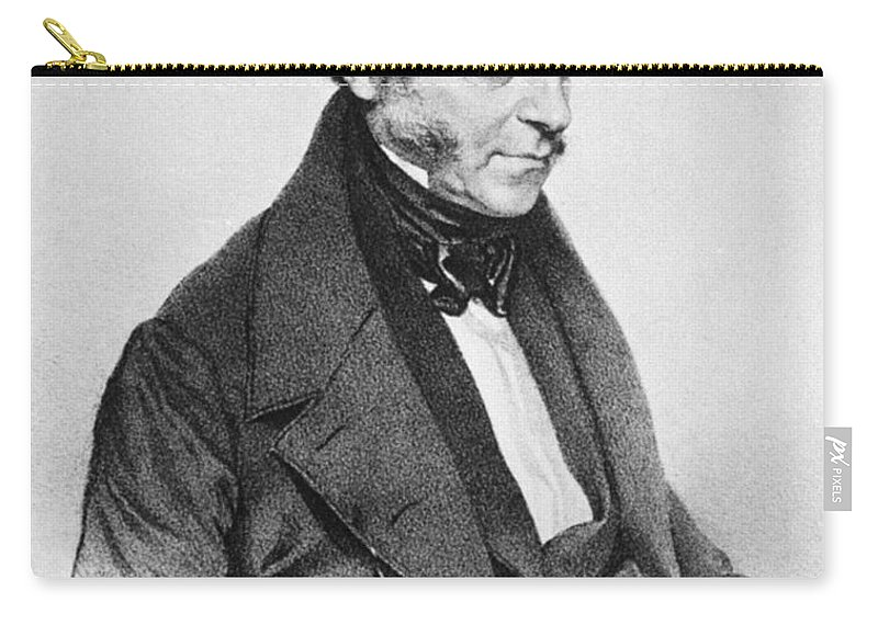18th Century Carry-all Pouch featuring the photograph Johann Seibert (1782-1846) by Granger