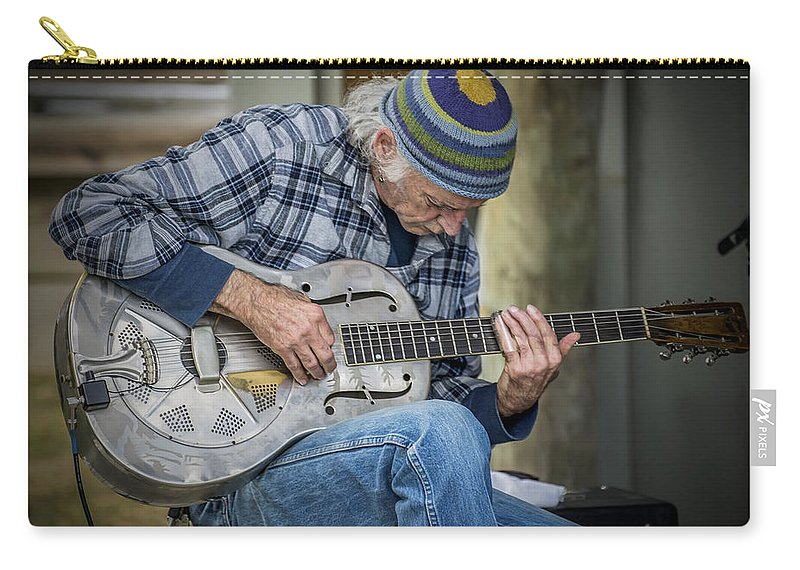 2d Carry-all Pouch featuring the photograph John Decker by Brian Wallace
