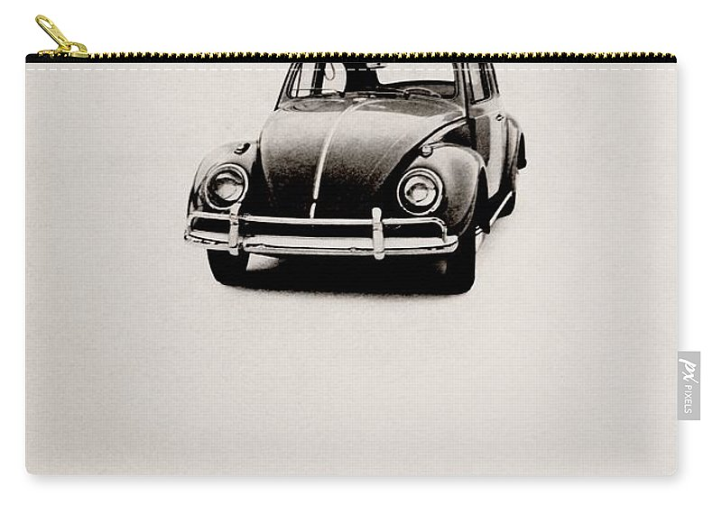 Volkswagen Carry-all Pouch featuring the photograph Jokes by Benjamin Yeager