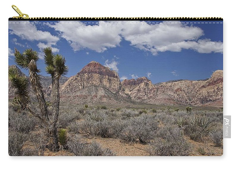 Horizontal Carry-all Pouch featuring the photograph Joshua Tree by Brian Kamprath