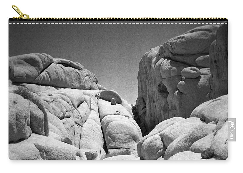 Joshua Tree Carry-all Pouch featuring the photograph Joshua Tree Holga 2 by Alex Snay