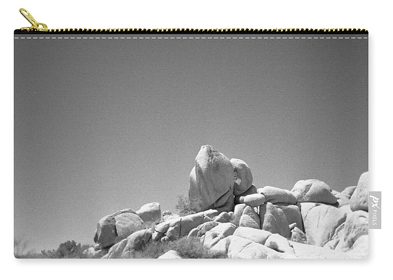 Joshua Tree Carry-all Pouch featuring the photograph Joshua Tree Holga 3 by Alex Snay