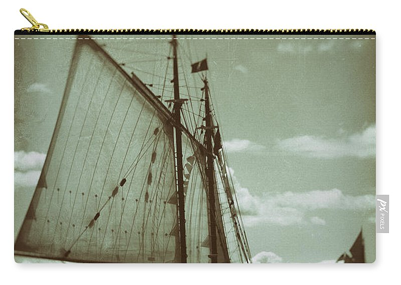 Tall Carry-all Pouch featuring the photograph Journey Back by Joe Geraci