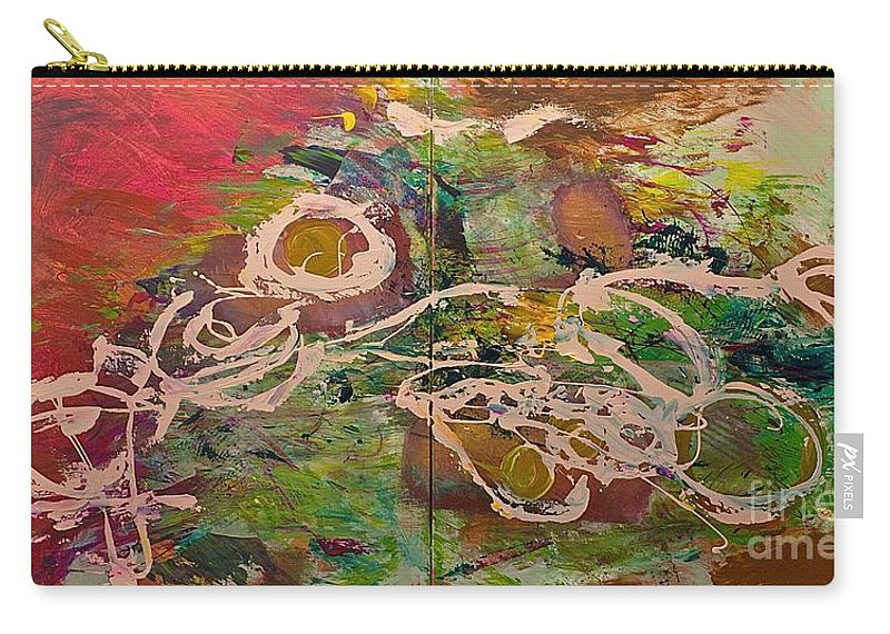 Landscape Carry-all Pouch featuring the painting Journey Forth by Allan P Friedlander