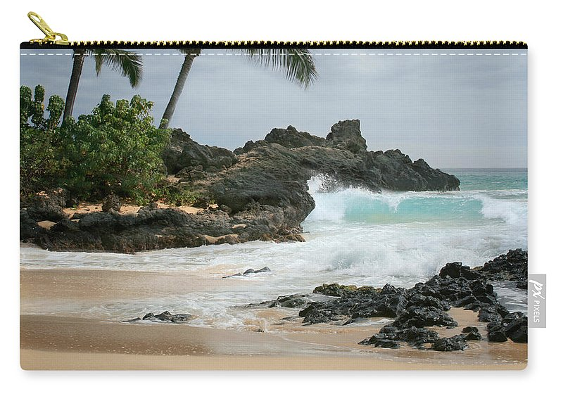 Aloha Carry-all Pouch featuring the photograph Journey Of Discovery by Sharon Mau