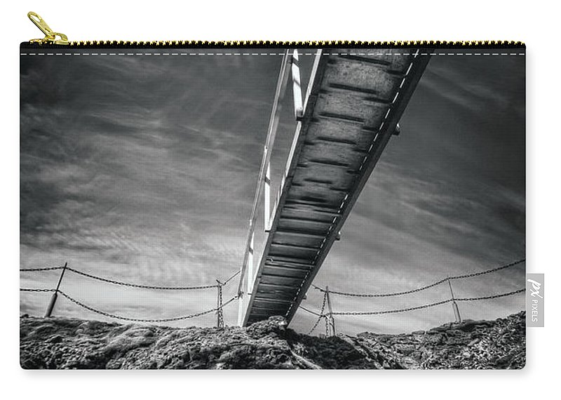 Above Carry-all Pouch featuring the photograph Journey To The Centre Of The Earth by Evelina Kremsdorf