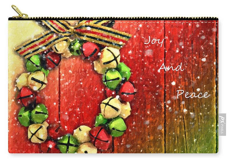 Kenny Francis Carry-all Pouch featuring the photograph Joy And Peace by Kenny Francis