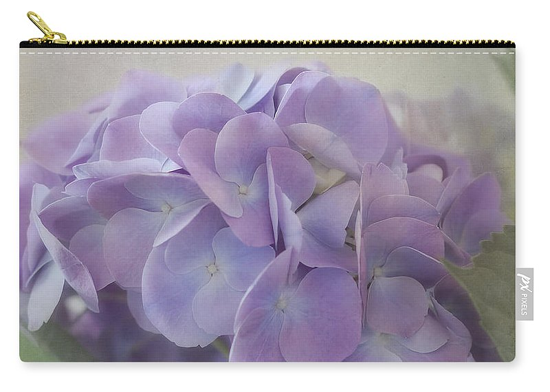 Hydrangea Carry-all Pouch featuring the photograph Joy Is.... by Kim Hojnacki