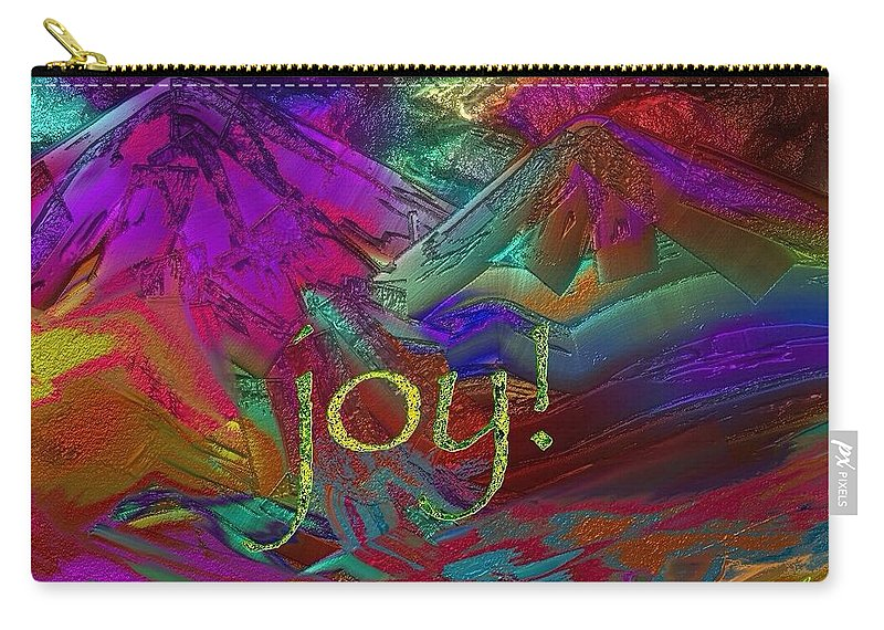 Joy Carry-all Pouch featuring the painting joy by Marie Clark