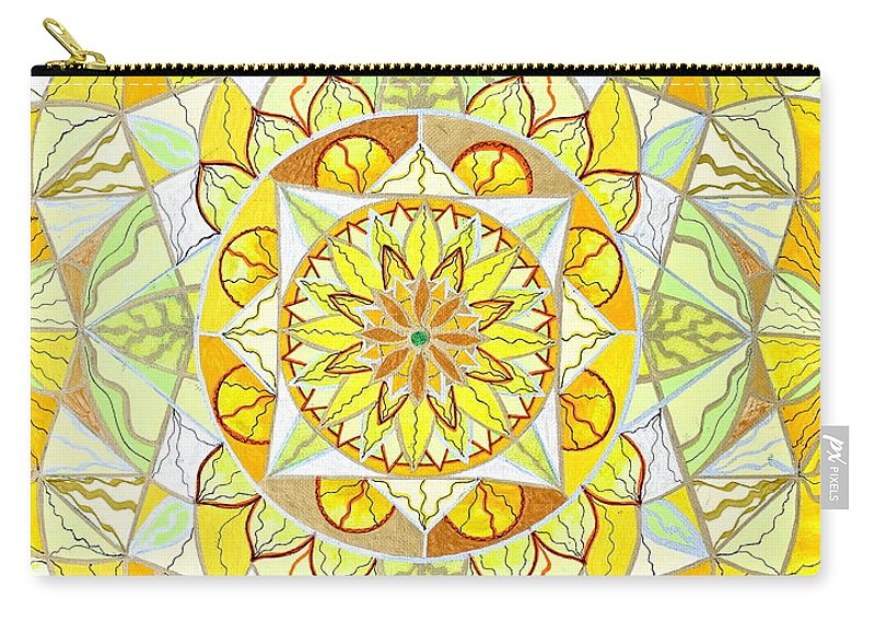 Joy Carry-all Pouch featuring the painting Joy by Teal Eye Print Store