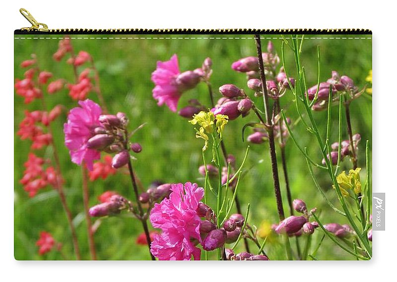 Spring Carry-all Pouch featuring the photograph June Blooms by MTBobbins Photography