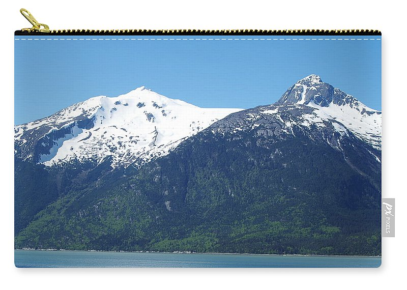 Alaska Carry-all Pouch featuring the photograph Juneau Port 2 by Mike Wheeler
