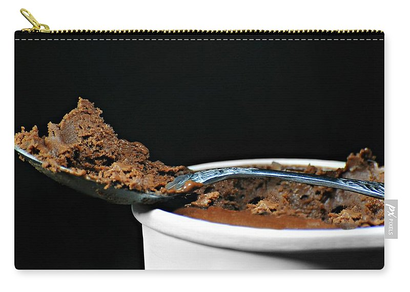 Sorbet Carry-all Pouch featuring the photograph Just A Spoonful by Diana Angstadt