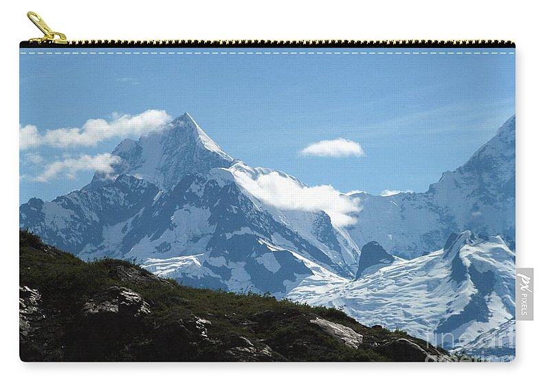 Alaska Carry-all Pouch featuring the photograph Just Another Snow-capped Mt by Joseph Yarbrough