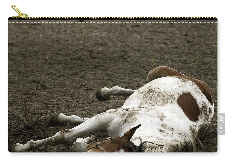 Relax Carry-all Pouch featuring the photograph Just Relax by Angel Tarantella