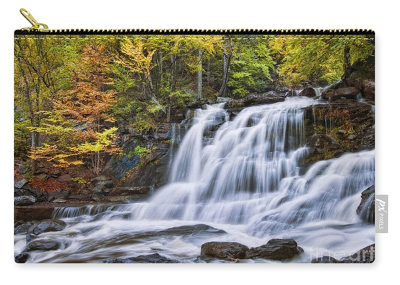 Falls Carry-all Pouch featuring the photograph Kaaterskill Falls by Claudia Kuhn