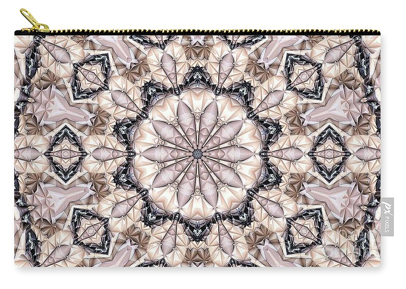 Kaleidoscope Carry-all Pouch featuring the photograph Kaleidoscope 21 by Ron Bissett