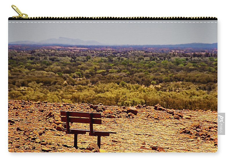 Kata Tjuta Carry-all Pouch featuring the photograph Kata Tjuta V2 by Douglas Barnard